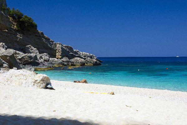 La baia di Orosei , La Baia di Orosei, Sardegna , Italia