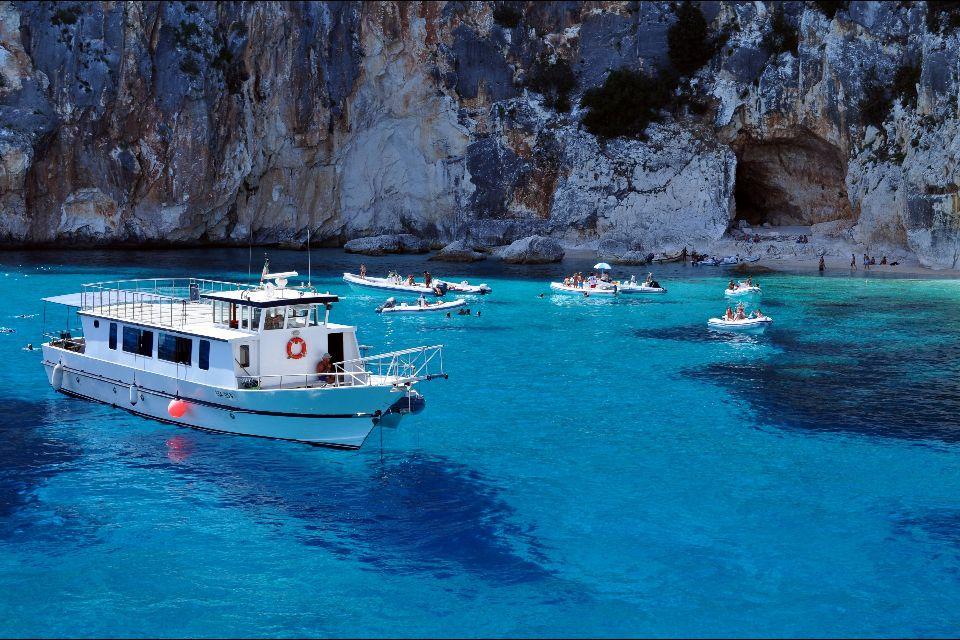 La baia di Orosei , Cala Ganone, Sardegna , Italia
