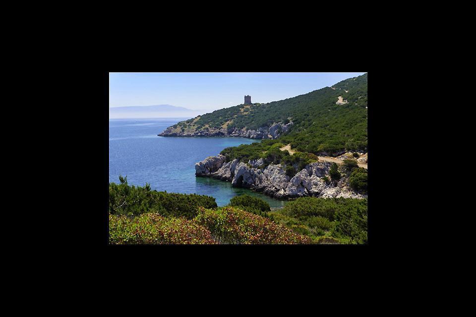 Porto Conte bay , The bay of Porto Conte, Sardinia , Italy