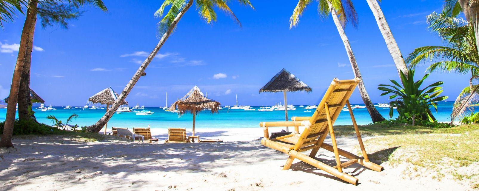 Les îles, île, Boracay, Philippines, asie, plage