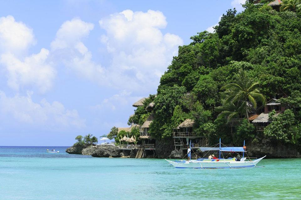 Boracay , La playa de Bulabog , Filipinas