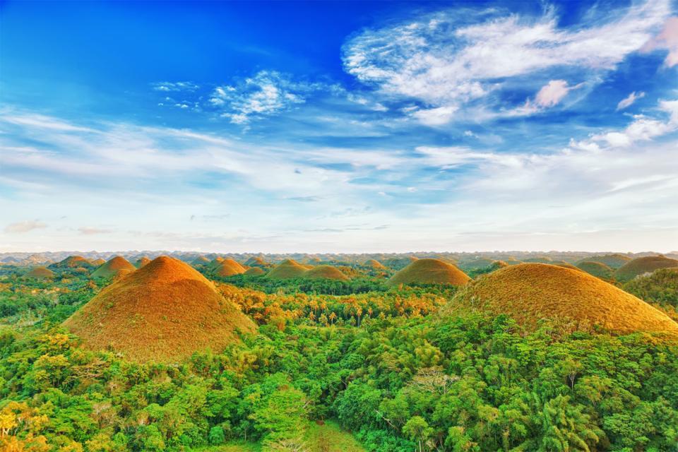 Bohol , Las Chocolate Hills , Filipinas