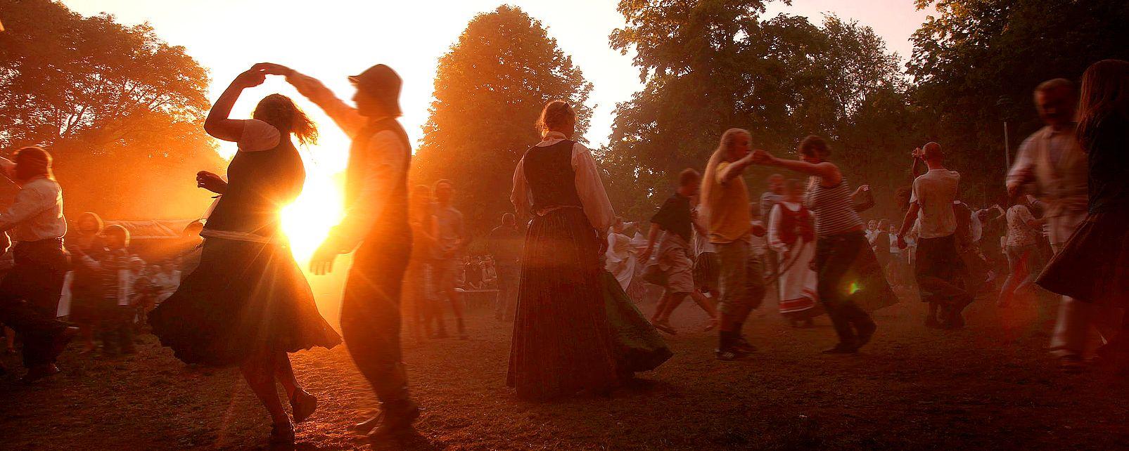 St. Casimir , Tänze für das Fest des Heiligen Kasimir , Litauen