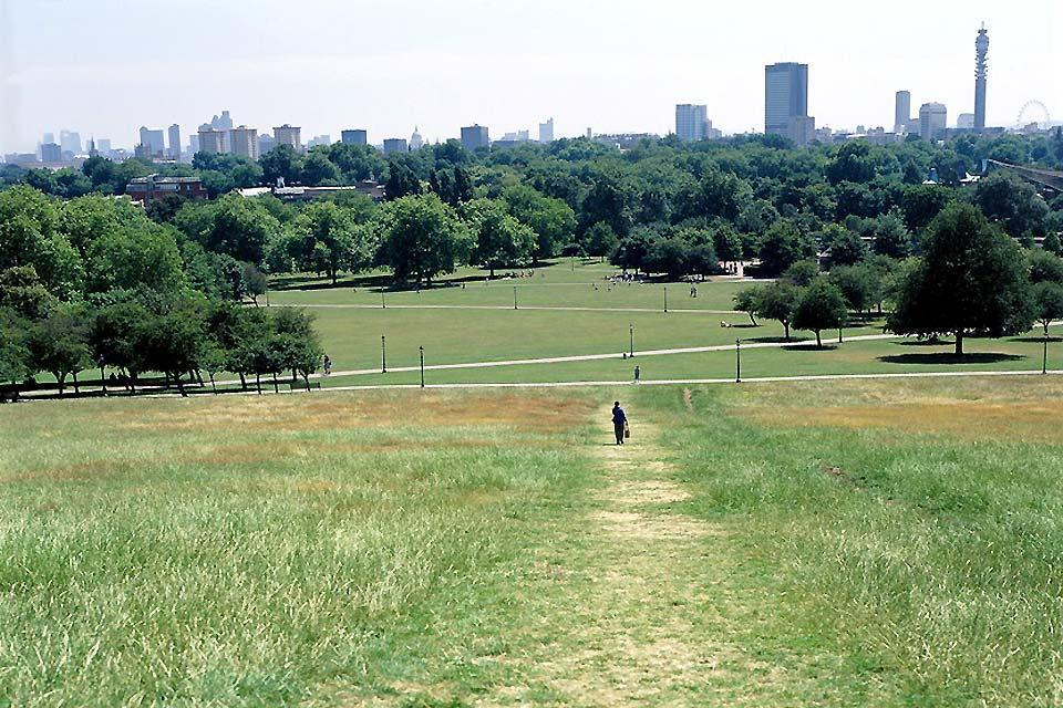 Primrose hill collina verde londinese inghilterra for La collina london