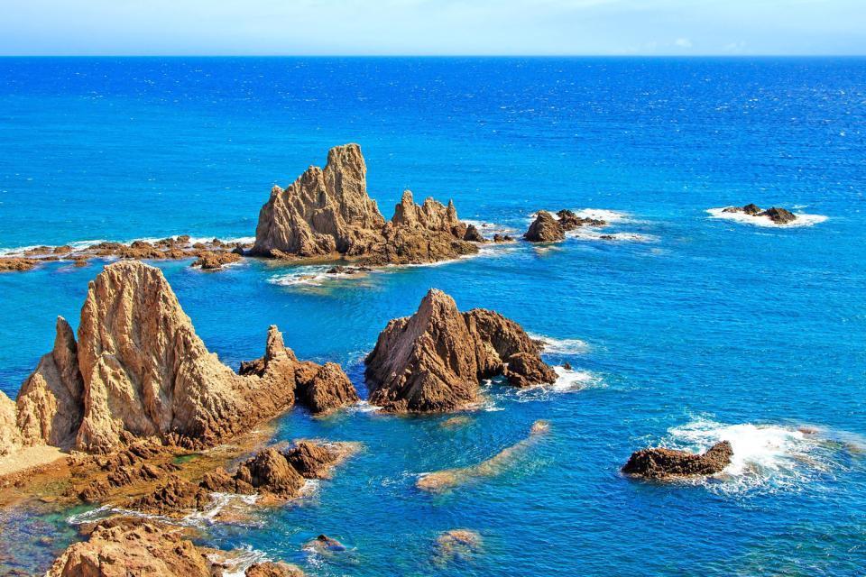 Cabo de Gata- Níjar , Vistas del Cabo de Gata , España