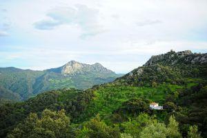 Los Alcornocales , Las temperaturas , España