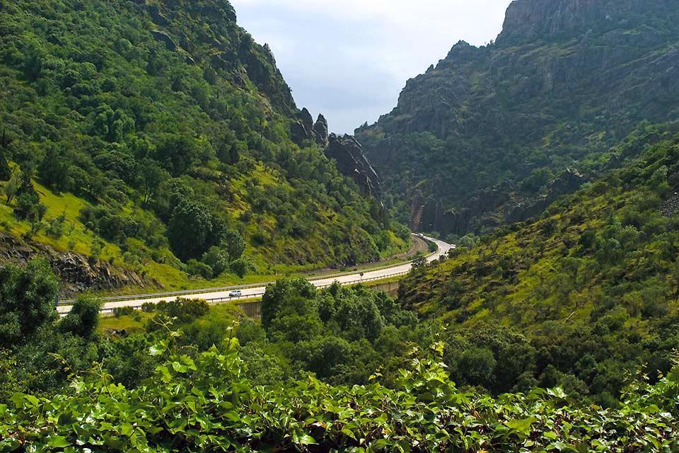 Despeñaperros, La faune et la flore, Une gorge spectaculaire, Andalousie