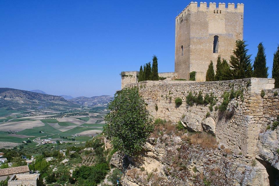 La ruta del Califato , Vista panorámica desde la ruta de Califato , España