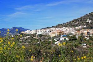 Les paysages, alpujarra, village, andalousie, Lanjaron, espagne, europe