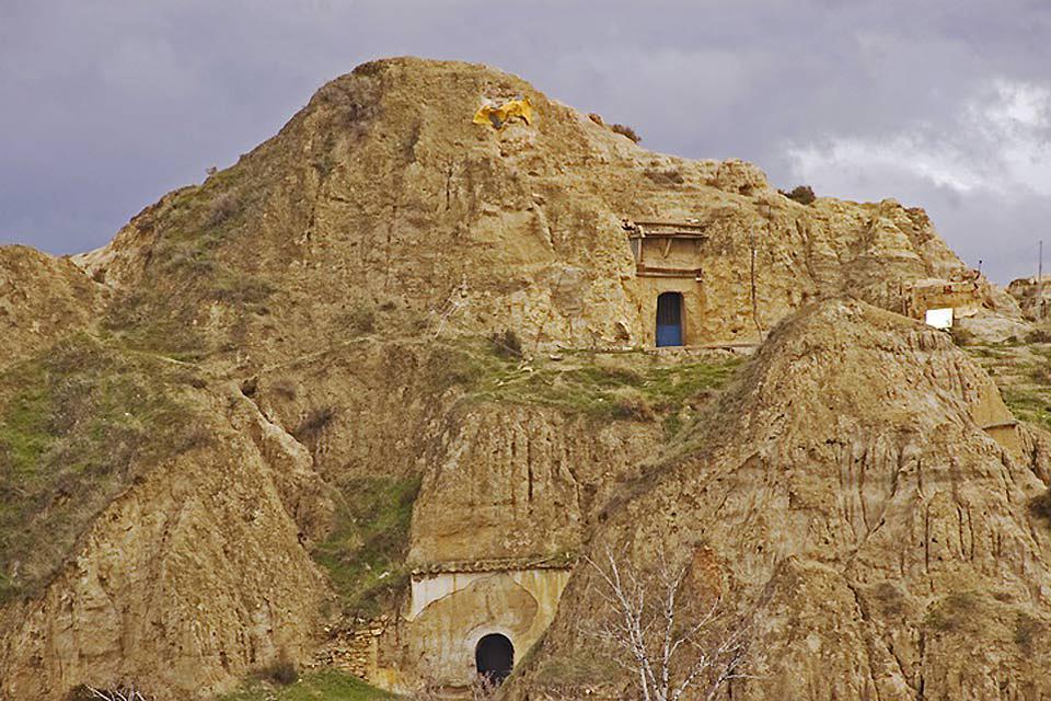 La Alpujarra , Construcciones en la Alpujarra , España