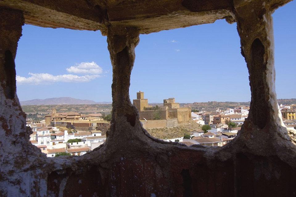La Alpujarra , Bonito paisaje desde la Alpujarra , España