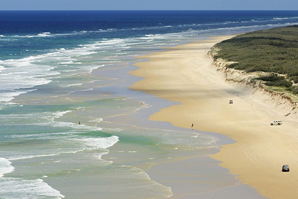 Les randonnées du Queensland , L'île de Fraser , Australie