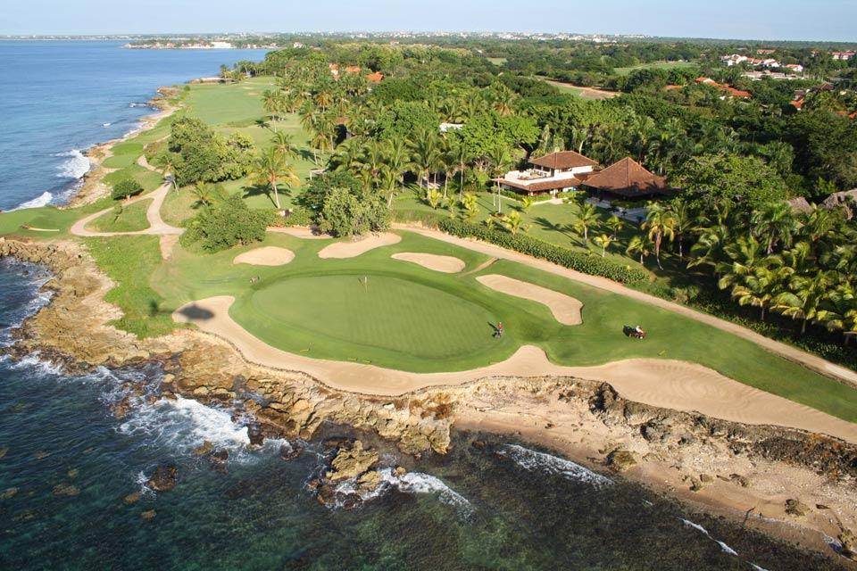 Le golf , Casa de Campo , République dominicaine