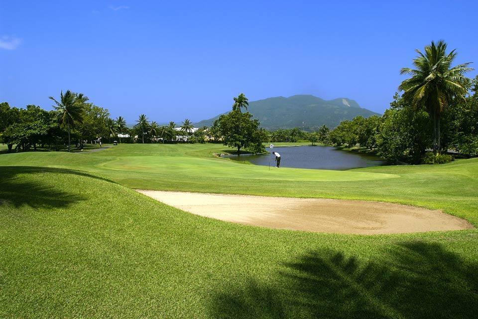 Le golf , Playa Dorada , République dominicaine