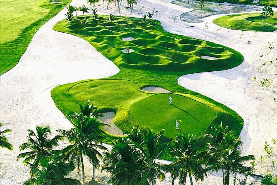 Le golf , Punta Cana Resort and Club , République dominicaine