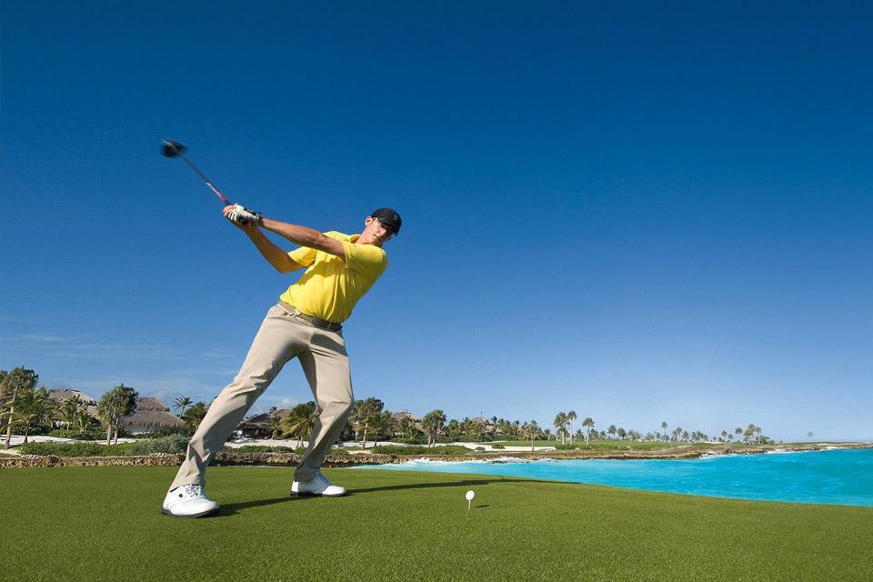 Le golf , République dominicaine
