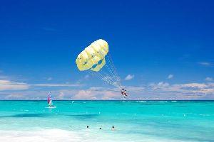 Le parachute ascensionnel , El paracaidismo ascensional , República Dominicana