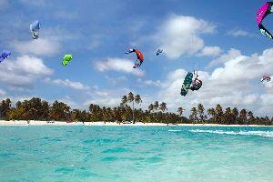 Le kite-surf , El kitesurf 1 , República Dominicana