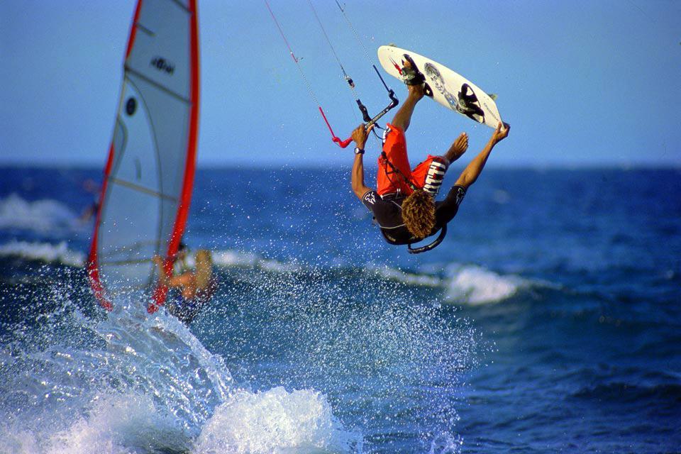 Le kite-surf , Le kite-surf 2 , République dominicaine