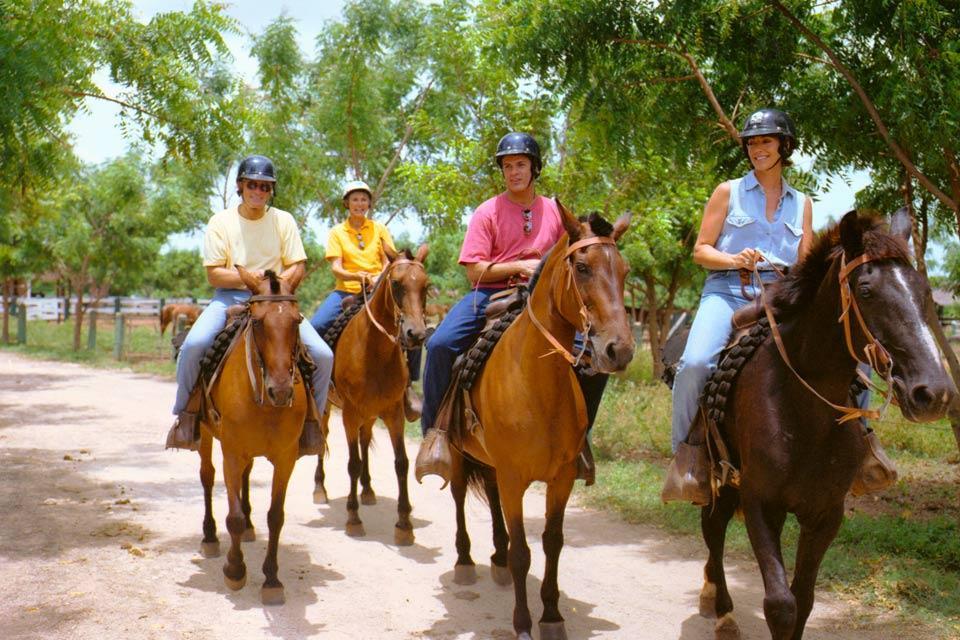 L'équitation , Excursión a caballo , República Dominicana