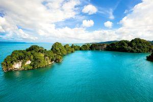 Les paysages, Parc national Los Haitises République Dominicaine Caraïbes lagune
