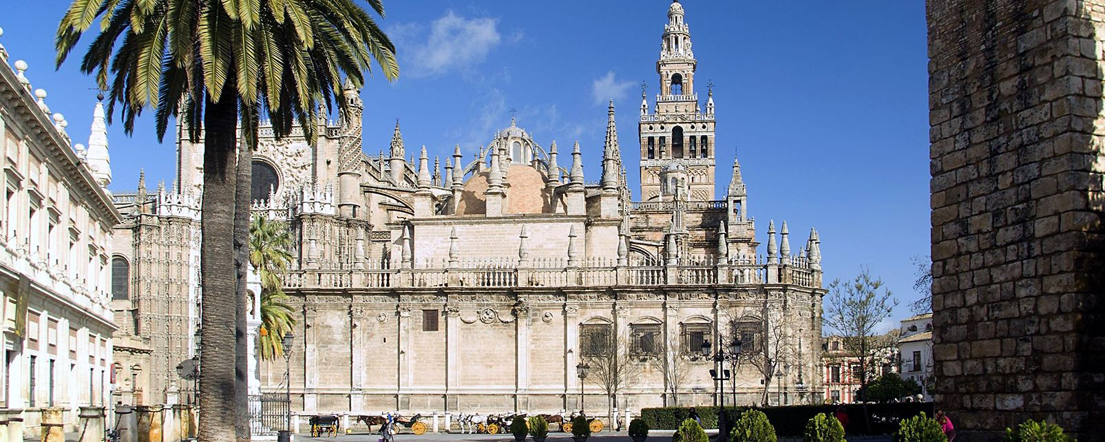 La cathédrale de Séville , The Cathedral of Seville , Spain