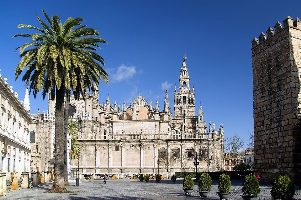 La catedral de Sevilla , La Catedral de Sevilla , España