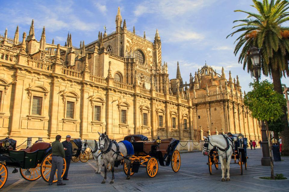 La catedral de Sevilla , La cúpula de la Catedral de Sevilla , España