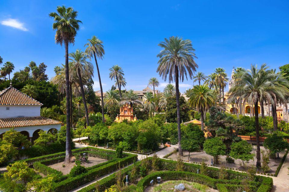 Le palais de l'Alcazar à Séville , Les Alcazars royaux de Séville , Espagne