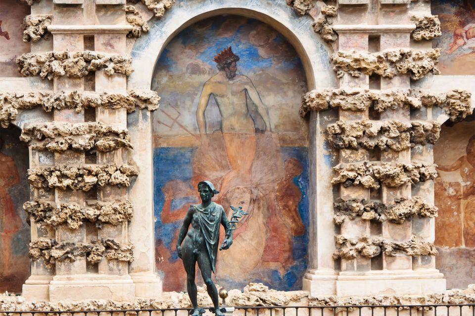 Le palais de l'Alcazar à Séville , Détail de l'Alcázar , Espagne