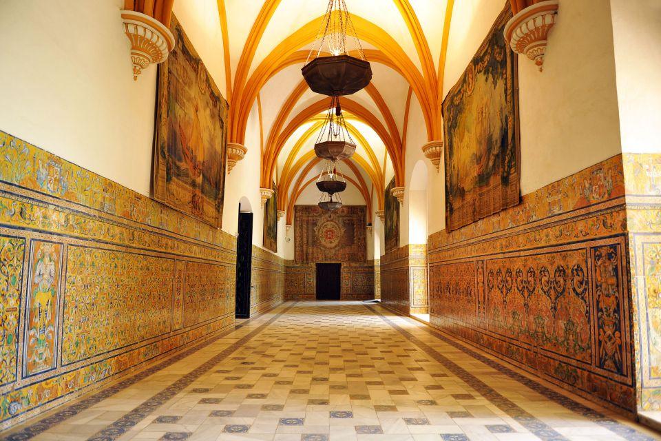 Le palais de l'Alcazar à Séville , The Mudejar style , Spain