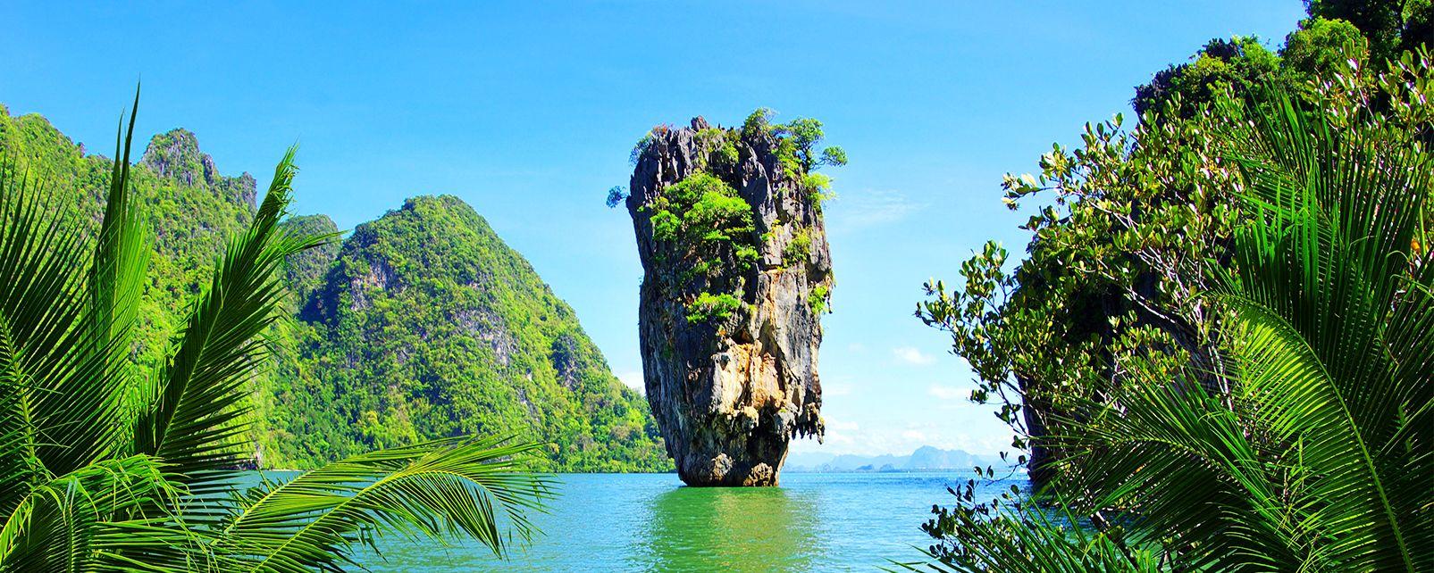 La bahía de Phang Nga, Los paisajes, Khao Lak y sus alrededores, Tailandia