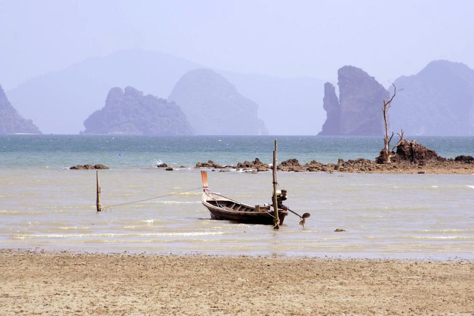La baia di Phang Nga , Le spiagge di Koh Yao Noi , Thailandia