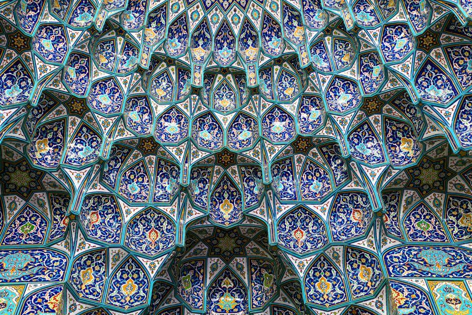 La Gran Mezquita del Sultán Qaboos , Sultanato de Omán