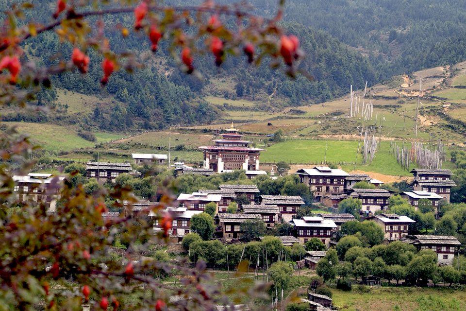 Architecture religieuse, Ura, village, Bouddhisme, Lhakhang, Dzong, Asie, Bhoutan, architecture, culture, bumtang