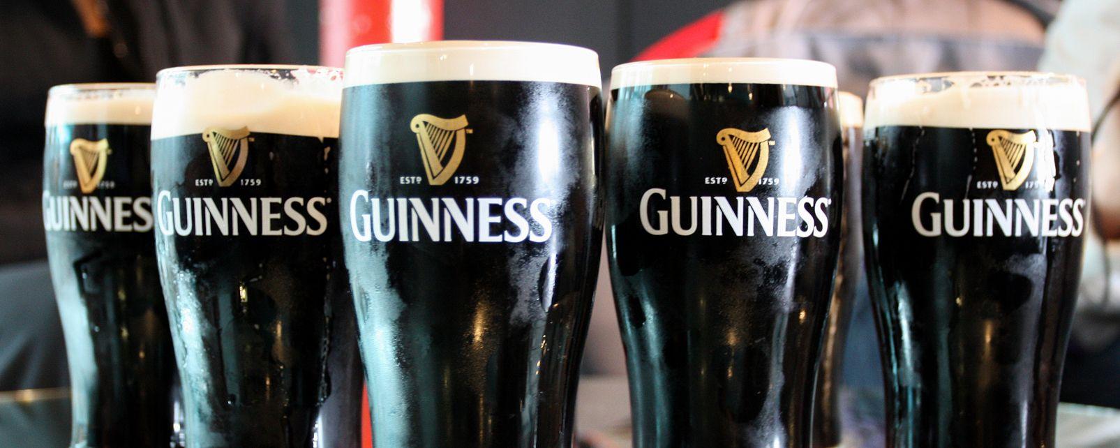 Die Brauerei Guinness in Dublin, Guiness Storehouse, Die Monumente, Dublin, Irland