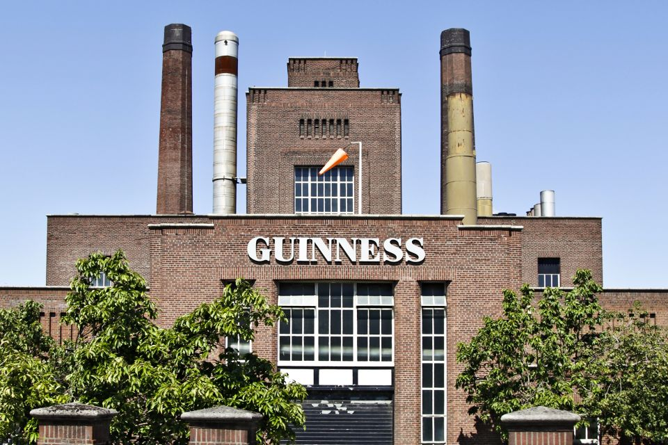 ?Guinness is good for you?, Guiness Storehouse, Die Monumente, Dublin, Irland