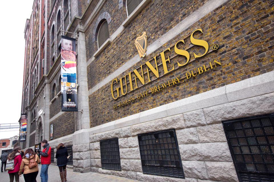 Guinness, ein Symbol Irlands, Guiness Storehouse, Die Monumente, Dublin, Irland