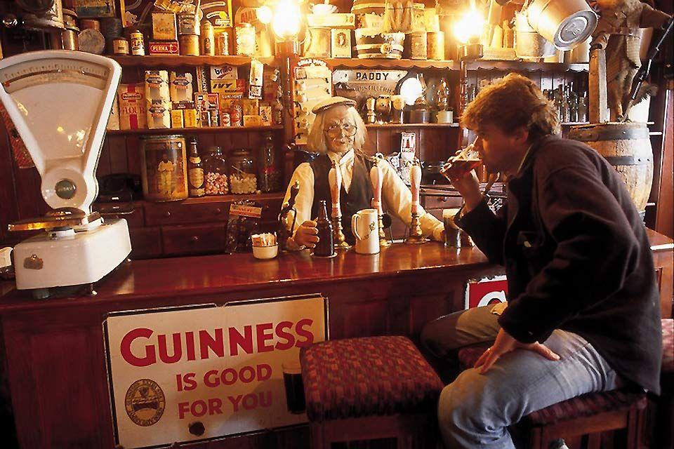 Das Guinness-Museum, Dublin, Guiness Storehouse, Die Monumente, Dublin, Irland