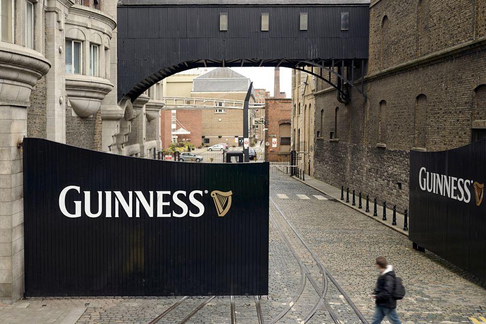 Guiness Storehouse, Die Monumente, Dublin, Irland