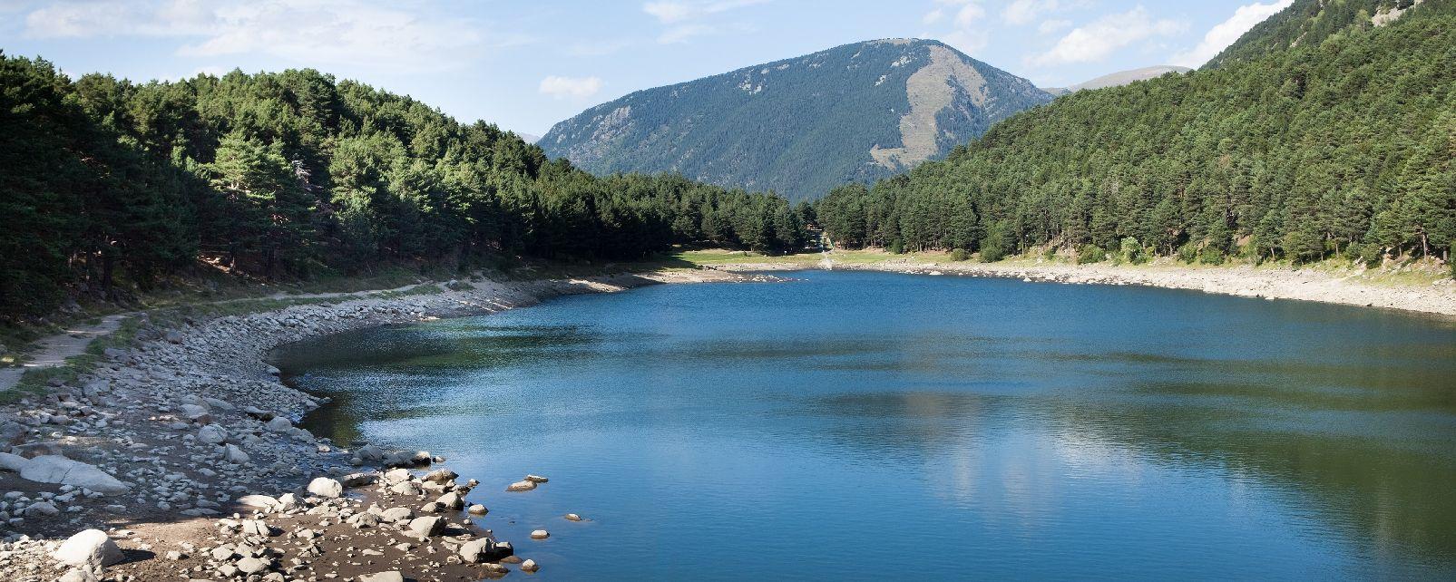 Rivers and lakes , Juclar Lake , Andorra