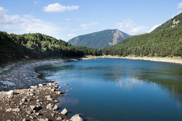 Les fleuves et les lacs , Der Juclarsee , Andorra