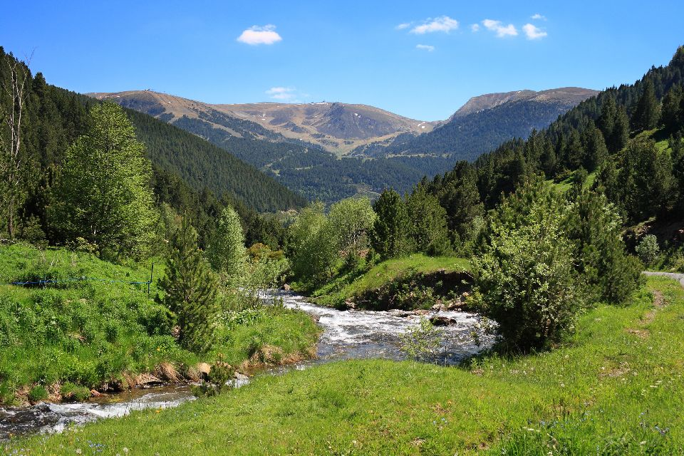 Rivers and lakes , Andorra
