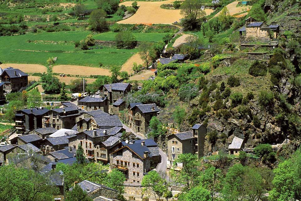 Las casas tradicionales , Las casas andorranas , Andorra