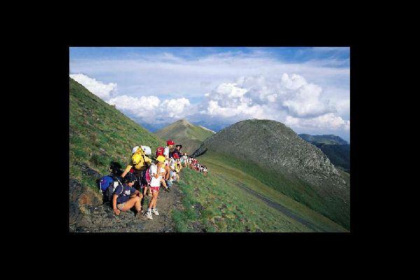 Les excursions , Hikers in Andorra , Andorra