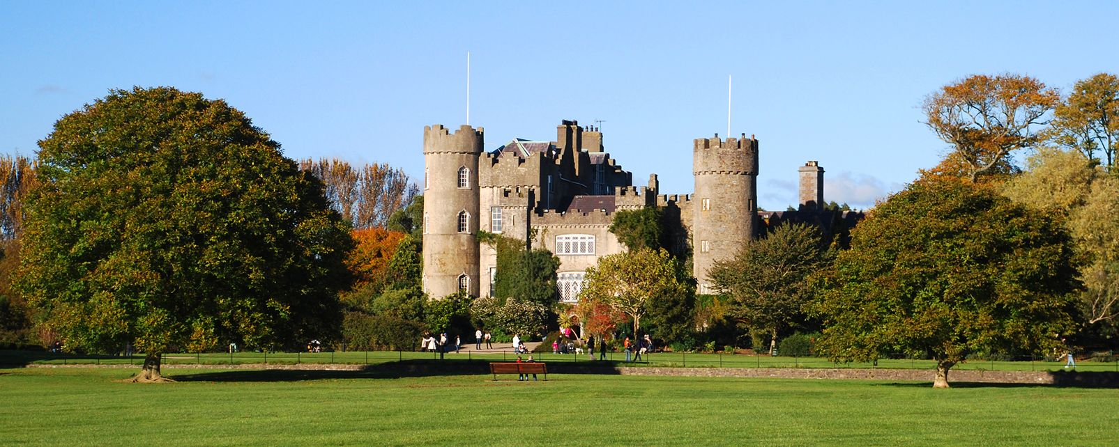 Malahide Castle, Dublin, Malahide Castle, Monuments, Dublin, Ireland