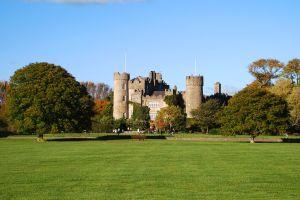 Malahide's Castle, Dublin, Malahide Castle, Die Monumente, Dublin, Irland