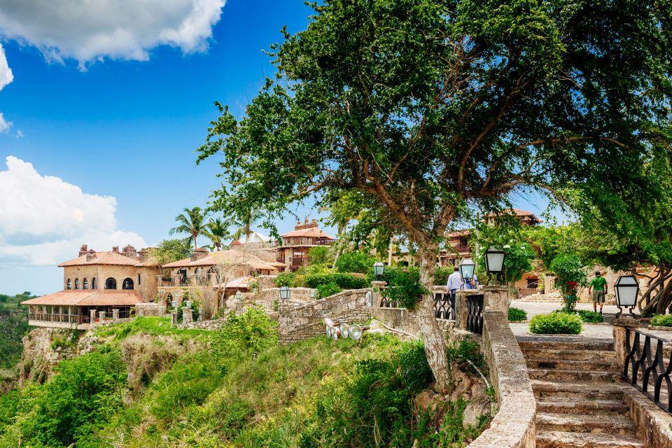 The Rio Chavon, Altos de Chavon, Monuments and walks, Dominican Republic