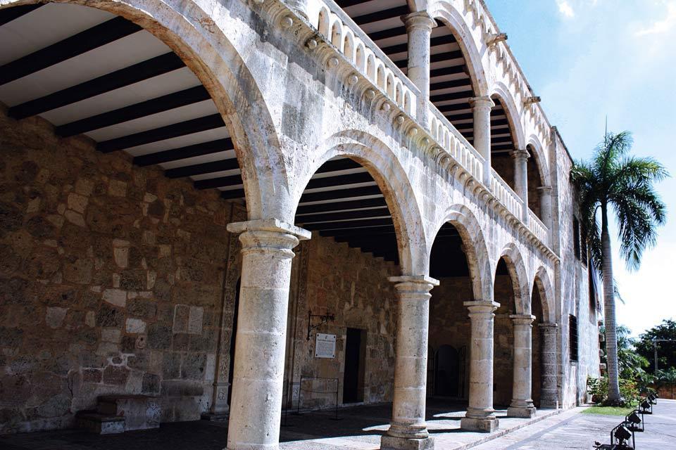 L'Alcazar de Colon , Un mélange de style mudejar et gothique , République dominicaine