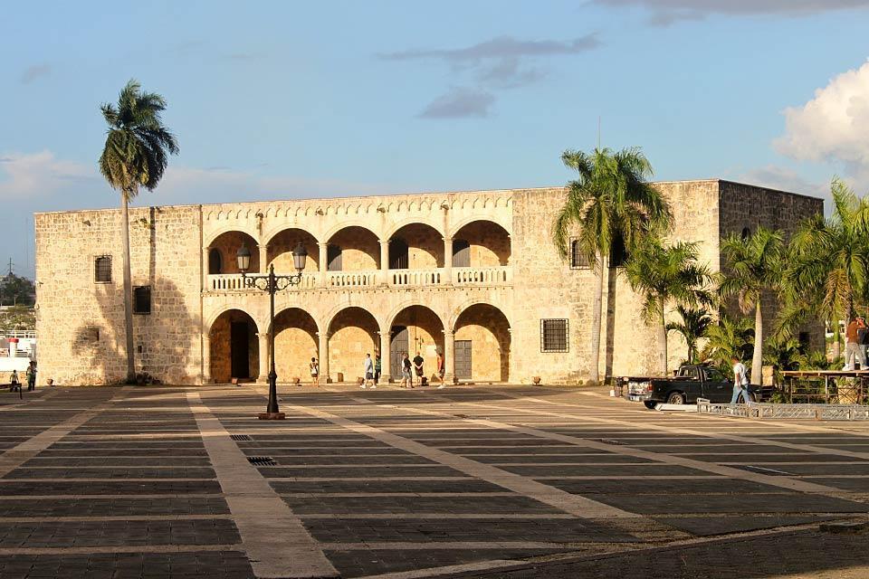 L'Alcazar de Colon , Statue de Christophe Colomb , République dominicaine